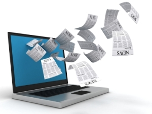 News gathering online